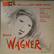 LP - Richard Wagner / Paul Paray and the Detroit Symphony Orchestra - The Flying Dutchman - Overture / Tristan And Isolde - Prelude And Love-Death / Parsifal - Good Friday Spell / Siegfried - Forest Murmur