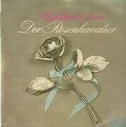 LP - Richard Strauss, Wilhelm Schüchter, Leonie Rysanek,... - Der Rosenkavalier