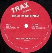 12'' - Rich Martinez - Are You Ready