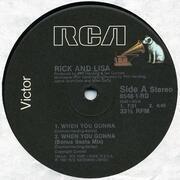 12'' - Rick Astley, Lisa Fabien - When You Gonna