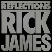 LP - Rick James - Reflections - embossed cover, with poster