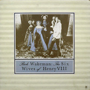LP - Rick Wakeman - The Six Wives Of Henry VIII - golden labels