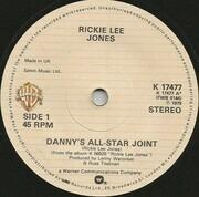 7inch Vinyl Single - Rickie Lee Jones - Danny's All-Star Joint