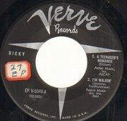 7inch Vinyl Single - Ricky Nelson - Ricky - Original US, Original Picture Sleeve