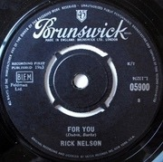 7'' - Ricky Nelson - That's All She Wrote