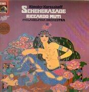 LP - Rimsky-Korssakoff/ Riccardo Muti, Philadelphia Orchestra - Scheherazade - DMM