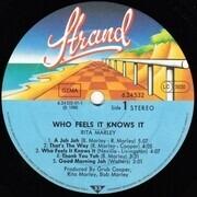 LP - Rita Marley - Who Feels It Knows It