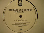 12inch Vinyl Single - Rob Base & DJ E-Z Rock - It Takes Two