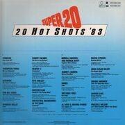 LP - Robert Palmer, Heaven 17 and others - Super 20 - 20 Hot Shots '83