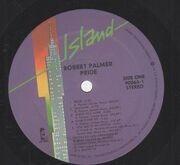 LP - Robert Palmer - Pride
