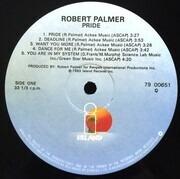LP - Robert Palmer - Pride - still sealed