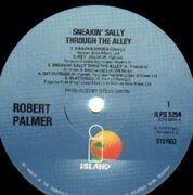 LP - Robert Palmer - Sneakin' Sally Through The Alley