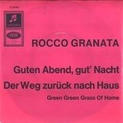 7'' - Rocco Granata - Guten Abend, Gut' Nacht / Der Weg Zurück Nach Haus - Yellow Sleeve