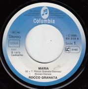 7'' - Rocco Granata - Maria