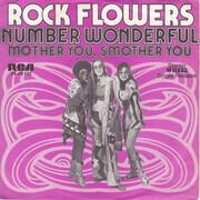 7inch Vinyl Single - Rock Flowers - Number Wonderful