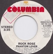 7inch Vinyl Single - Rock Rose - Phantom Lover