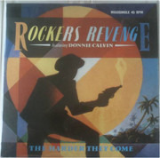 12inch Vinyl Single - Rockers Revenge Featuring Donnie Calvin - The Harder They Come