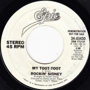 7'' - Rockin' Sidney - My Toot-Toot