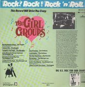 LP - The Shangri-Las, The Chiffons, The Secrets - The girl groups