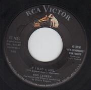 7inch Vinyl Single - Rod Lauren - If I Had A Girl / No Wonder - Original US. Picture Sleeve