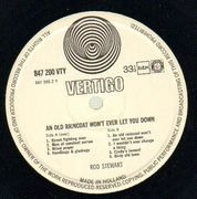 LP - Rod Stewart - An Old Raincoat Won't Ever Let You Down - Vertigo Swirl