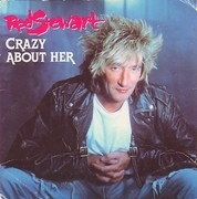 CD - Rod Stewart - Crazy About Her - 3' CD