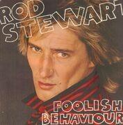 LP - Rod Stewart - Foolish Behaviour - with big poster