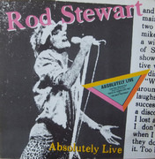 Double LP - Rod Stewart - Absolutely Live - Gatefold