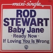 12inch Vinyl Single - Rod Stewart - Baby Jane