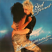 LP - Rod Stewart - Blondes Have More Fun - Gatefold