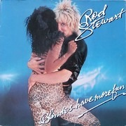 LP - Rod Stewart - Blondes Have More Fun