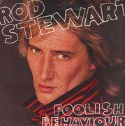 LP - Rod Stewart - Foolish Behaviour - With Poster