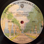 LP - Rod Stewart - Foot Loose & Fancy Free