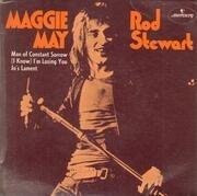 7inch Vinyl Single - Rod Stewart - Maggie May - Original Australian EP