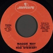 7inch Vinyl Single - Rod Stewart - Maggie May