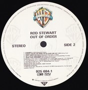 LP - Rod Stewart - Out Of Order