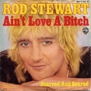 7'' - Rod Stewart - Ain't Love A Bitch