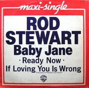 12'' - Rod Stewart - Baby Jane