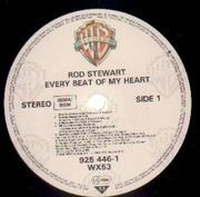 LP - Rod Stewart - Every Beat Of My Heart