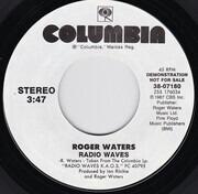 7inch Vinyl Single - Roger Waters - Radio Waves - Promo