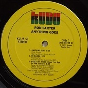 LP - Ron Carter - Anything Goes