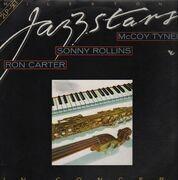 Double LP - Ron Carter, Sonny Rollins, McCoy Tyner - Milestone Jazzstars In Concert
