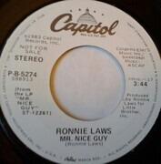 7inch Vinyl Single - Ronnie Laws - Mr. Nice Guy
