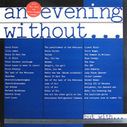 LP - Rory McGrath , Griff Rhys Jones , Jimmy Mulville , Clive Anderson , Martin Bergman - An Evening Without...But With...