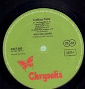 LP - Rory Gallagher - Calling Card