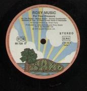 LP - Roxy Music - For Your Pleasure - Orig 1st GER Pink Rim Island