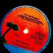 LP - Roxy Music - For Your Pleasure - orange labels