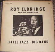 LP - Roy Eldridge And His Orchestra - Little Jazz - Big Band - Red Vinyl