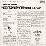 LP - Roy Orbison - Singing Songs From The M.G.M Film 'The Fastest Man Alive' - OST