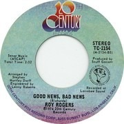 7inch Vinyl Single - Roy Rogers - Hoppy, Gene And Me / Good News, Bad News